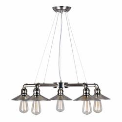 Forte 5 Light Chandelier