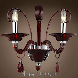 JM Murano Design 2 Light 16