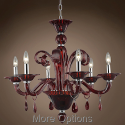 JM Murano Design 6 Light 29