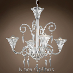 JM Murano Design 4 Light 28