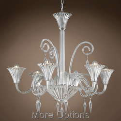 JM Murano Design 6 Light 32
