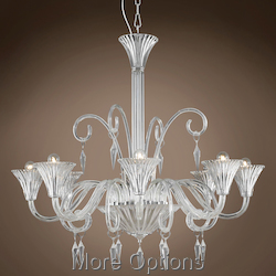 JM Murano Design 8 Light 37
