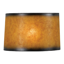 CAL Lighting Drum Crackel Paper Shade