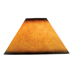 CAL Lighting Leatherette Shade