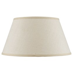 CAL Lighting SH-8111-20 Hardback Fine Burlap Shade