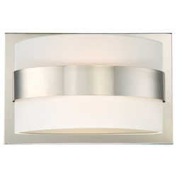 Crystorama Libby Langdon For Crystorama Grayson 2 Light Polished Nickel Sconce