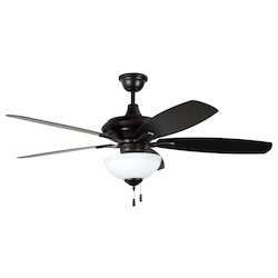 Craftmade 52In. Ceiling Fan With Blades And Light Kit