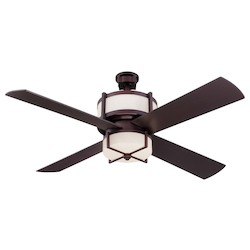 Craftmade 56In. Ceiling Fan With Blades And Light Kit