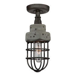 Artcraft Loft AC10670 1 Light Semi Flush