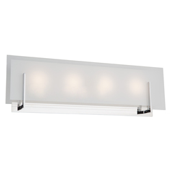 Artcraft Kingsley 4 Light  Chrome Wall Bracket