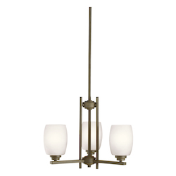 Kichler Mini Chandelier 3Lt