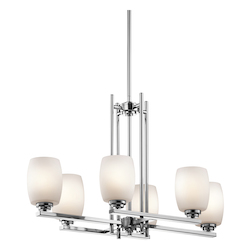 Kichler Chandelier 6Lt Led