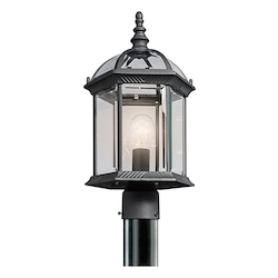 Kichler Outdoor Post Mt. 1Lt. Led