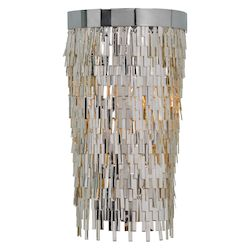 Uttermost Uttermost Millie 1 Light Chrome Sconce