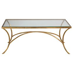 Uttermost Uttermost Alayna Gold Coffee Table