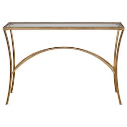 Uttermost Uttermost Alayna Gold Console Table