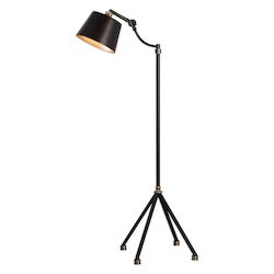 Uttermost Uttermost Marias Black Metal Floor Lamp