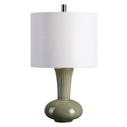 Uttermost Uttermost Luray Gray Ceramic Lamp