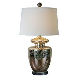 Uttermost Uttermost Ailette Antiqued Mercury Glass Lamp