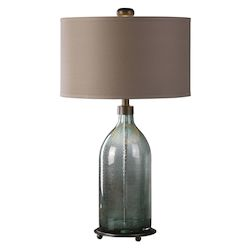 Uttermost Uttermost Massana Gray Glass Table Lamp