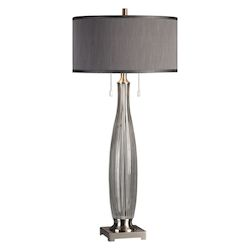 Uttermost Uttermost Coloma Gray Glass Table Lamp