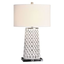 Uttermost Uttermost Dania White Table Lamp