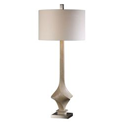 Uttermost Uttermost Roseta Sand Colored Twist Lamp