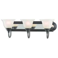 Livex Lighting Belmont Bronze & Chrome  Bath Vanity