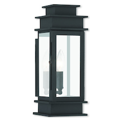 Livex Lighting Princeton Black Wall Lantern