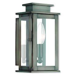 Livex Lighting Princeton Vintage Pewter Wall Lantern