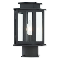 Livex Lighting Princeton Bronze Post Lantern