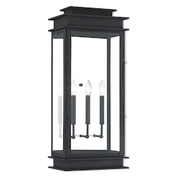 Livex Lighting Princeton Bronze Wall Lantern