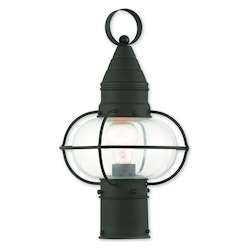 Livex Lighting Newburyport Black Post Lantern