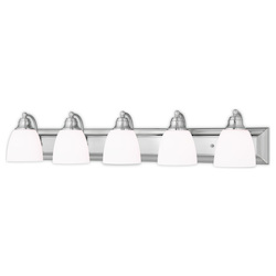 Livex Lighting Springfield Brushed Nickel Bath Vanity