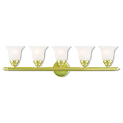 Livex Lighting Neptune Polished Brass Bath Vanity