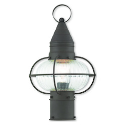 Livex Lighting Newburyport Bronze Post Lantern