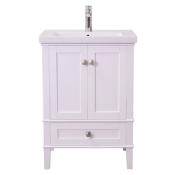 Elegant Decor VF-2001 Single Bathroom Vanity Set In White Finish