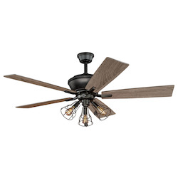 Vaxcel International Clybourn 52In. Ceiling Fan
