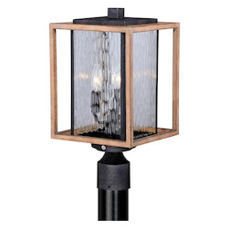 Vaxcel International Modoc 9In. Outdoor Post Light