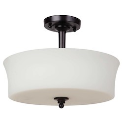 Craftmade 3 Light Semi Flush