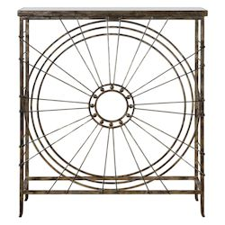 Uttermost Sweeney Iron Console Table