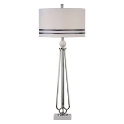 Uttermost Jamanda Steel Rod Table Lamp