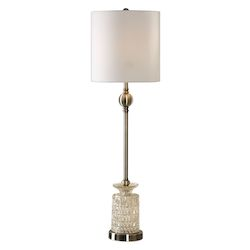 Uttermost Flaviana Antique Brass Buffet Lamp