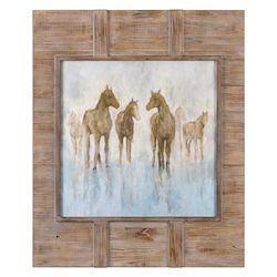 Uttermost Headed To The Barn Horse Print