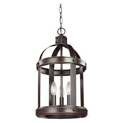 Sea Gull 5140703EN-782 Small Three Light Hall / Foyer