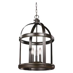 Sea Gull Medium Three Light Hall / Foyer