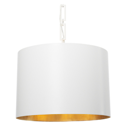 Crystorama Brian Patrick Flynn For Crystorama Alston 6 Light Matte White Chandelier