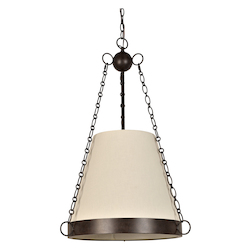 Crystorama Ellis 6 Light Charcoal Bronze Chandelier
