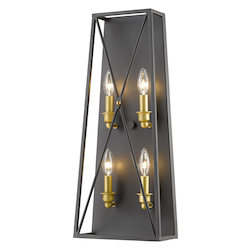 Z-Lite 4 Light Wall Sconce