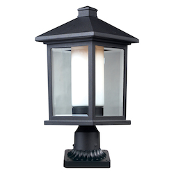 Z-Lite Outdoor Pier Mount Light